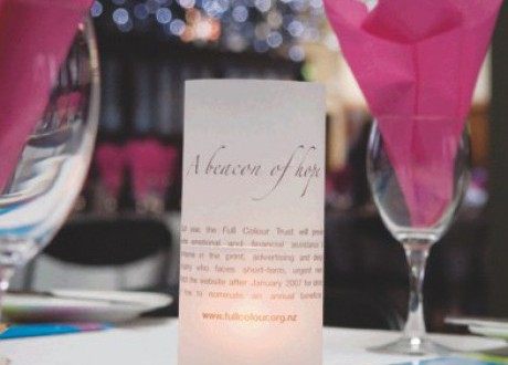 Becon of Hope Table setting